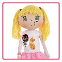 My Friend Huggles Lily Doll