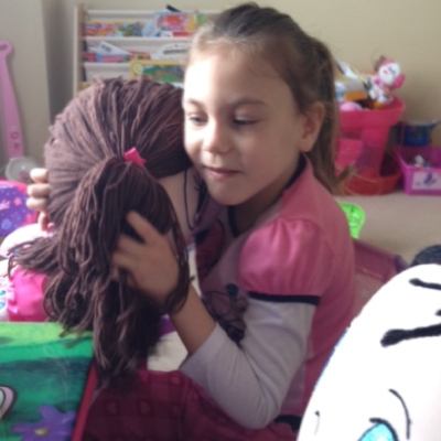 My Friend Huggles Rubi Doll