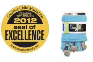 Creative Toy Awards 2012 Seal of Excellence Award – My Friend Huggles Activity Blankie On-The-Go.
