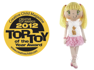 Creative Toy Awards - 2012 Top Toy Award – My Friend Huggles doll collection