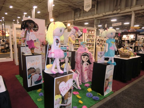My Friend Huggles at the Philadelphia Gift Show July 2012.
