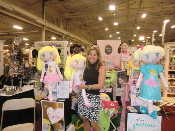 Brenda Katz at the My Friend Huggles at the Philadelphia Gift Show July 2012
