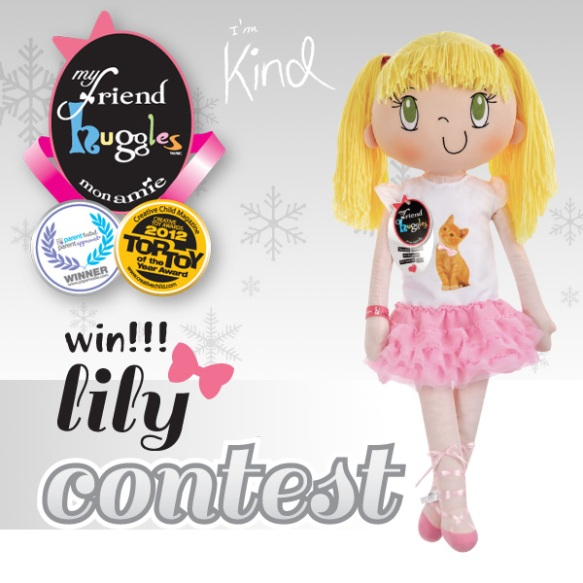 My Friend Huggles Win Lily Contest