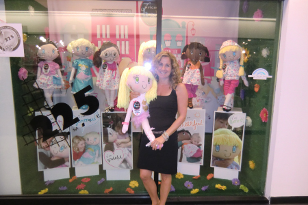 My Friend Huggles at The 2012 Atlanta International Gift & Home Furnishings Market.