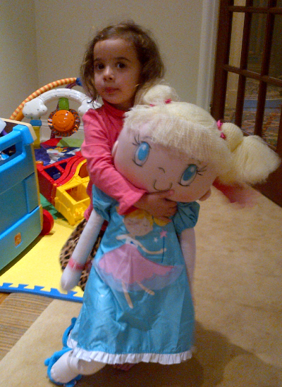 My Friend Huggles Sofia doll