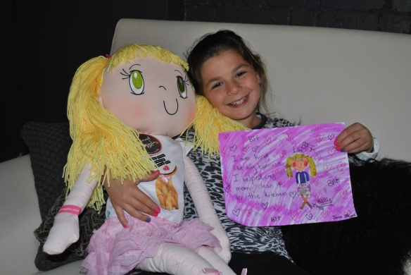 My Friend Huggles Lily doll with a new BFF