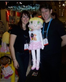My Friend Huggles in a Doll Magazine Spotlight for Toy Fair 2013