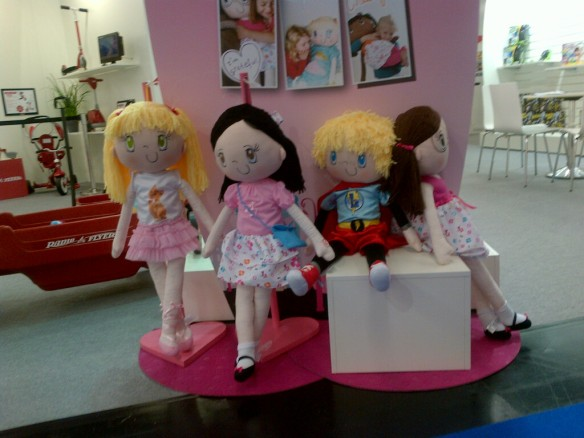 My Friend Huggles at the 2013 Kind + Jugend Trade Fair in Cologne, Germany