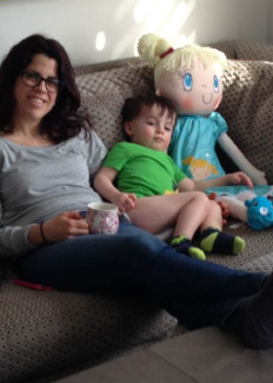 My Friend Huggles Sofia doll—a friend to lean on