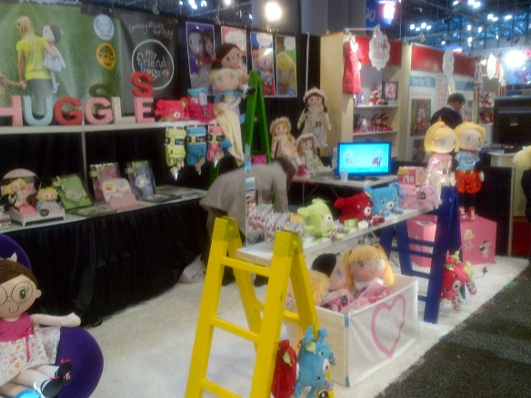 Tradeshow Reflections - My Friend Huggles at the 2013 New York Toy Fair-1