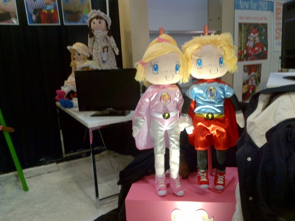 Tradeshow Reflections - My Friend Huggles at the 2013 New York Toy Fair-2