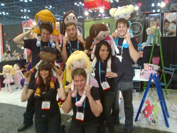 Tradeshow Reflections - Team Huggles gearing up for the 2013 New York Toy Fair