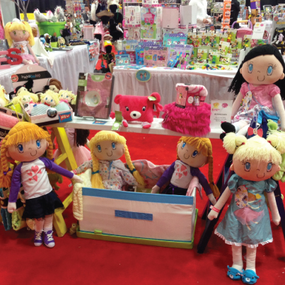 My Friend Huggles in Las Vegas for the largest Toy Show in the West! Toy Fest West - A buyers' Playground