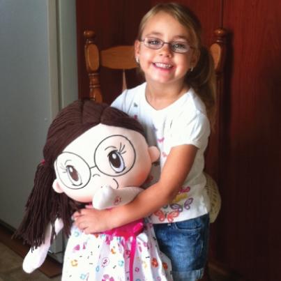 My Friend Huggles Rubi with a Cheerful Friend