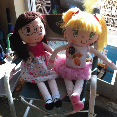 Happy Customer fell in Love with My Friend Huggles Dolls!