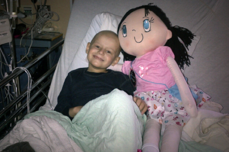 My Friend Huggles Bia Doll with Liam, My Friend Huggles Campaign of Hope