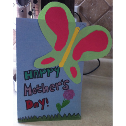 Little Hands make the most Adorable Mother's Day Cards!