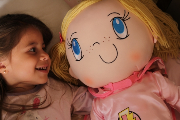 Adorable-photo-of-3-year-old-twin-with-My-Friend-Huggles-Mimi-doll