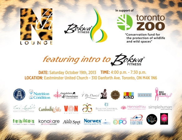 "Nth fundraiser is support of the Toronto Zoo's ""Conservation fund for the protection of wildlife and wild spaces"""