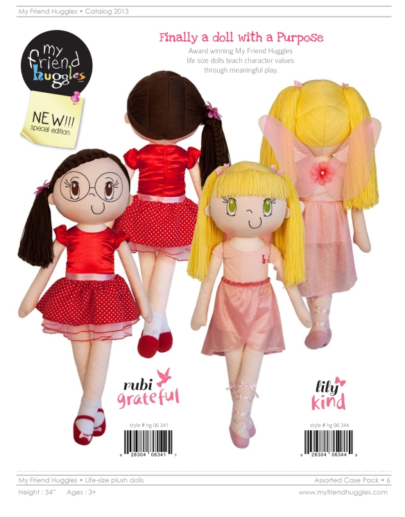 Announcing NEW 2013 My Friend Huggles Special Edition Dolls